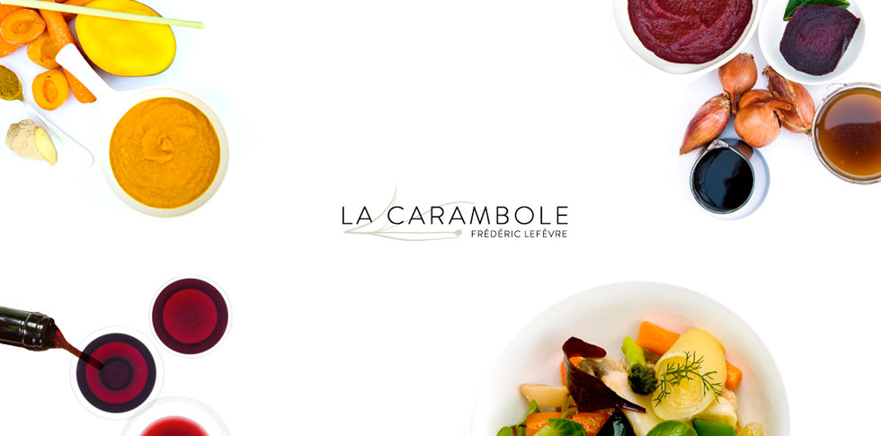 French Chef Drawing la Carambole is a French